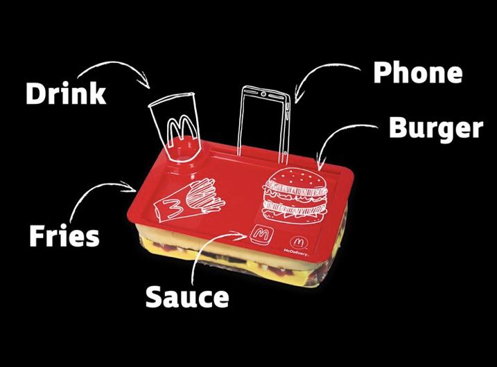 User Centred Design McDonalds Tray